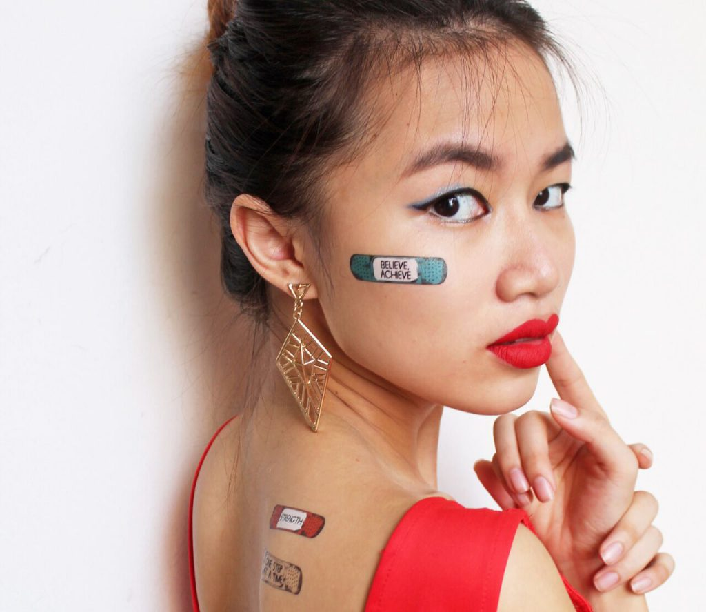 peppande tatueringar
