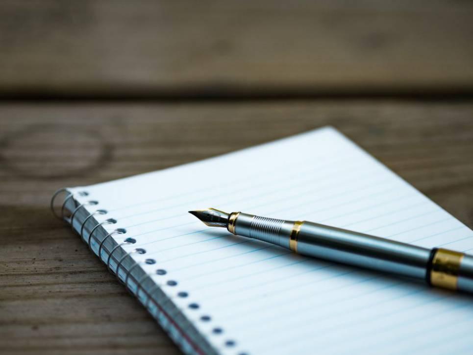 skrivterapi